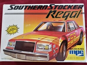MPC 1/25 Southern Stocker Buick Regal Model Kit-Papers-Retired-Opened #1-0845