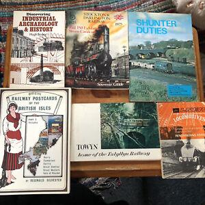 6-Railway-Books-Joblot-shunter-duties-Stockton-Darlington-Yorkshire-history-old