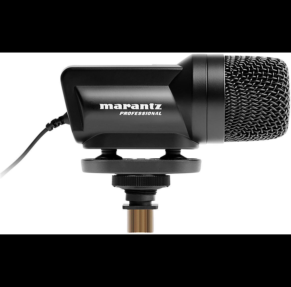 Marantz Professional Audio Scope SB-C2 X Y Stereo condenser mic for DSLR cameras