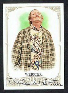 Dale-Webster-283-signed-autograph-auto-2012-Topps-Allen-amp-Ginter-Trading-Card