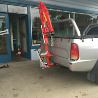 Swivel Crane And Towbar Attachment