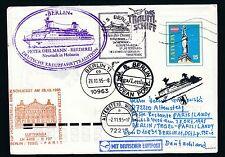 81592) LH FF Berlin - Paris 28.10.95, GAU Aufg.Riga Lettland SP MS BERLIN