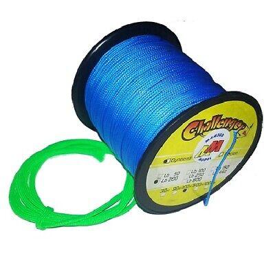 11317 Cavo Blu Dyneema Cable Kabel Lb200 100kg 100mt