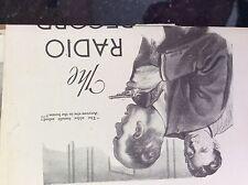 a1k ephemera 1952 article the radio record t v charters boston police costello
