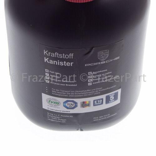 Porsche Porsche Jerry Can /& emergency 5L plastic fuel can