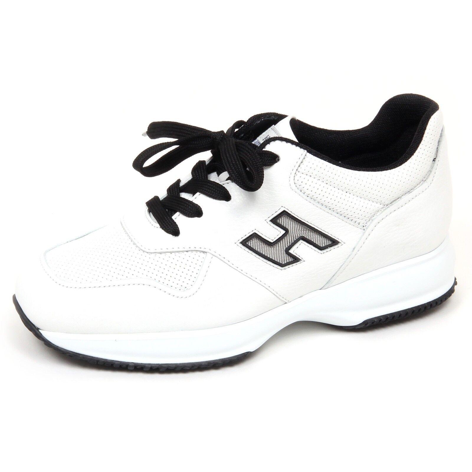E9754 scarpe da ginnastica uomo bianca nero HOGAN INTERACTIVE scarpe H rete scarpe man   Arte Squisita    Sig/Sig Ra Scarpa