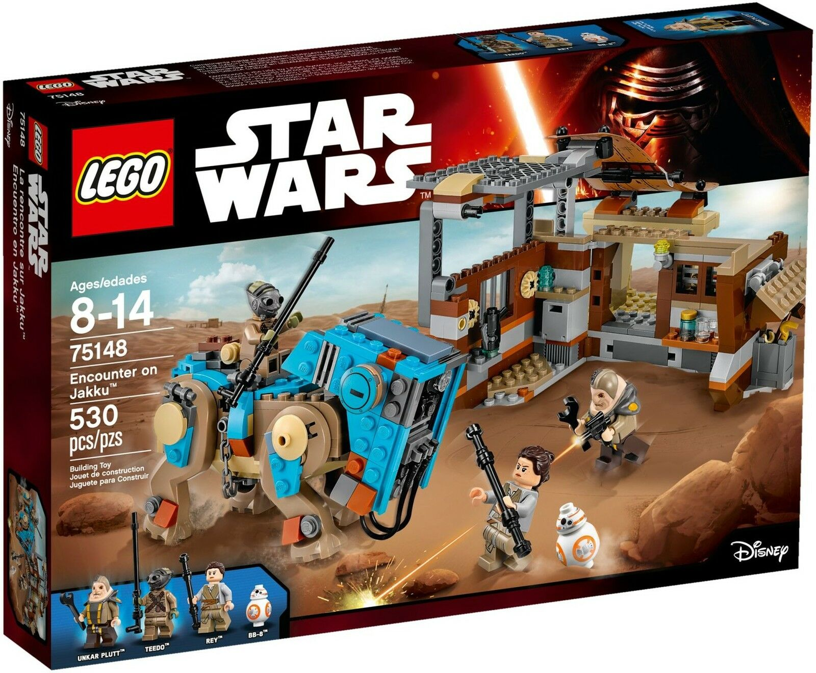 LEGO Star Wars - 75148 Encounter on Jakku M. Unkar plutt-NUOVO OVP  danno MAGAZZINO
