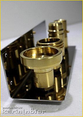 Halter V2A Edelstahl für LPG Füll-Adapter 21.8 sehr edel ( ohne Adapter )