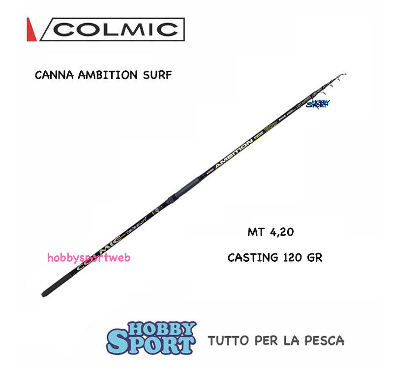 CANNA COLMIC SURFCASTING AMBITION 4.20 mt  120 GR