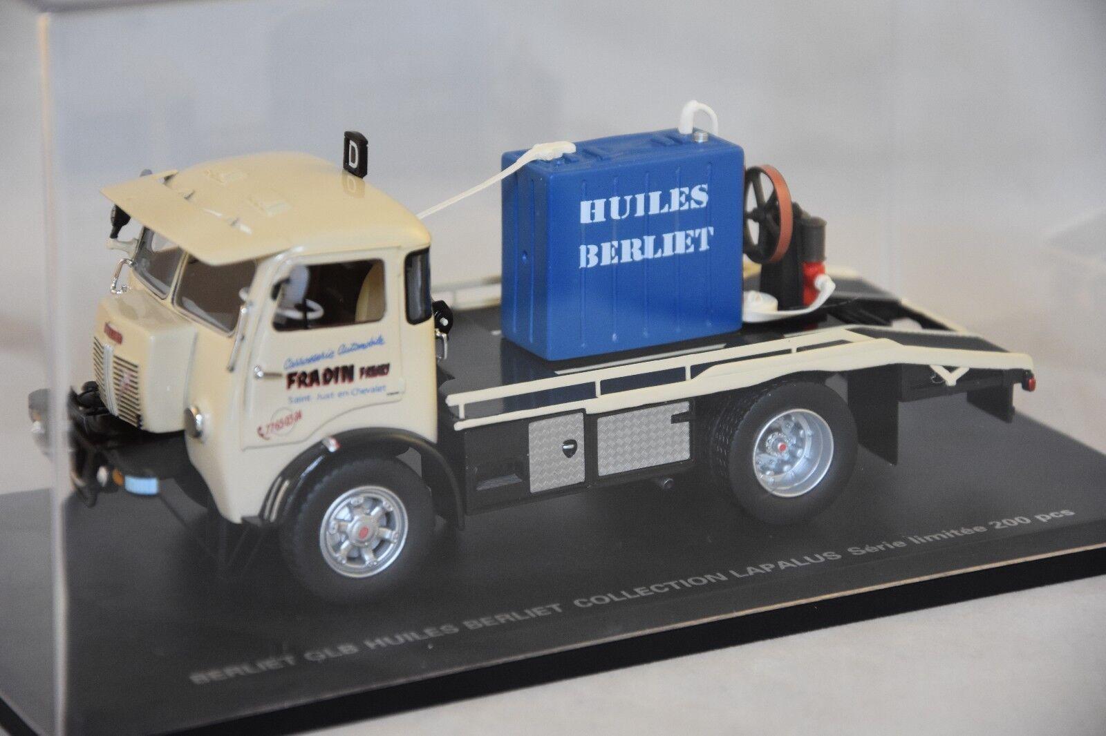 PERFEX 901 BERLIET GLB 18 4x4 HUILES BERLIET collection LAPALUS  1/43 | Outlet Shop En Ligne