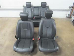 10-11-GMC-TERRAIN-Full-Seat-Set-Front-Rear-Bucket-Opt-AR9-Leather-Electric-SLT