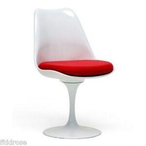 Mid-Century-Modern-Molded-Plastic-Tulip-Side-Chair