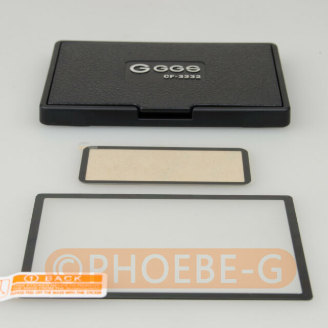 Optical Glass LCD Screen Protector Film Set for Canon 5D Transparent