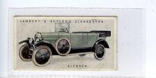 (Jc5973-100)  LAMBERT & BUTLER,MOTOR CARS,2ND,CITROEN,1923,#28