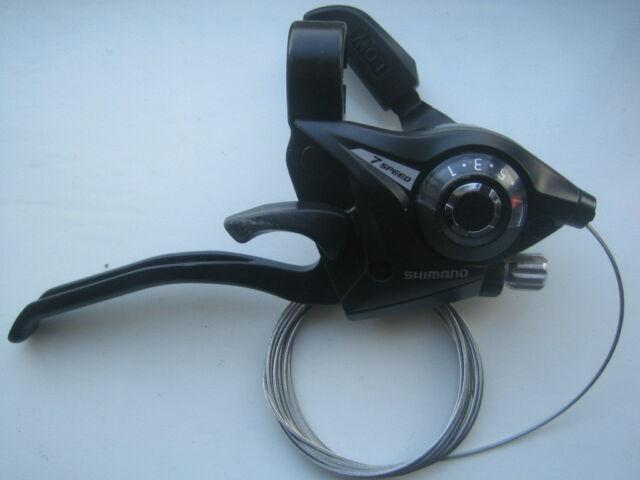 Shimano Acera Ergo Ez Fire cycle / bike gear shifters 3, 7, 8, 21 or 24 speed