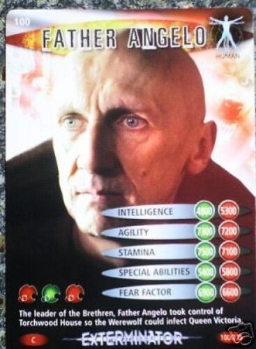 100 FATHER ANGELO DR WHO BATTLES IN TIME NO