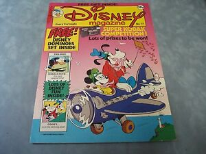 VINTAGE-DISNEY-MAGAZINE-NO-77-BY-LONDON-EDITIONS-MAGAZINES-VERY-RARE-COMIC