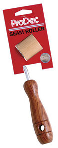 ProDec-Rosewood-Handle-Seam-Roller-For-Wallpaper-Solid-Wood-Tool-RSR1