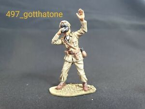 Airfix-1-32-German-infantry-officer-WW2-professionally-painted-54mm-Rommel