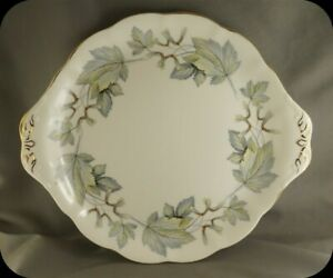 Royal-Albert-Silver-Maple-Cake-Plate-two-Available