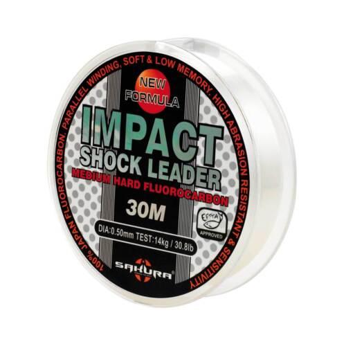 Sakura Vorfachschnur monofil Impact Shock Leader 30m 0,25mm 0,27EUR//m