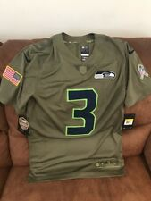 Nike Womens Seattle Seahawks Salute to Service Stitched Jersey ...