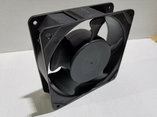 "Muffin Cooling Fan 4-3//4/"" Electrical Cabinet Enclosure 220v 110 cfm 3100 rpm NEW"