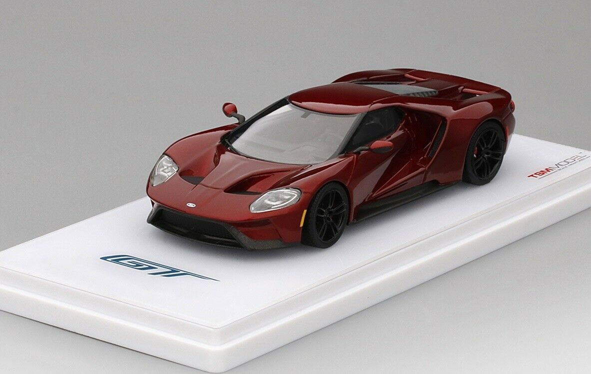 Ford Gt in Flüßigkeit Rot in 1 43 von Maßstabgetreu Miniaturen