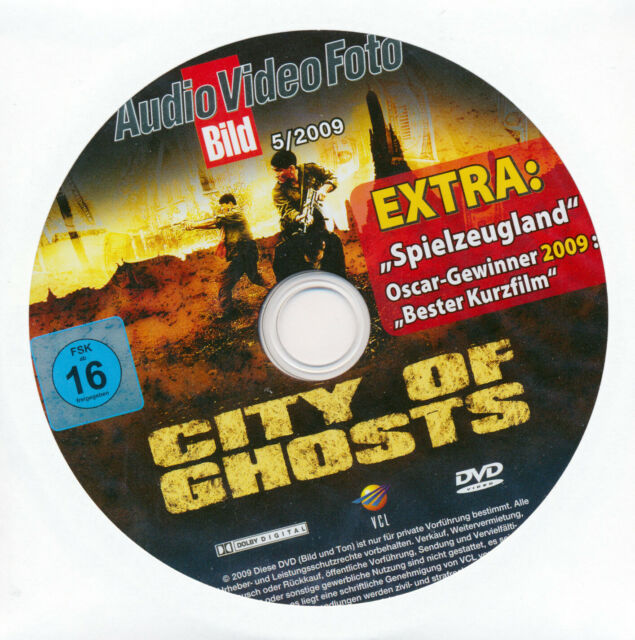 DVD CITY OF GHOSTS