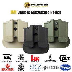 IMI-Defense-Double-Magazine-Pouch-Glock-H-amp-K-Beretta-Sig-Sauer-Walther-S-amp-W