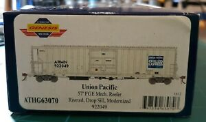 HO-SCALE-ATHEARN-GENESIS-57-039-FGE-MECHANICAL-REEFER-UNION-PACIFIC-UP-922049-NEW