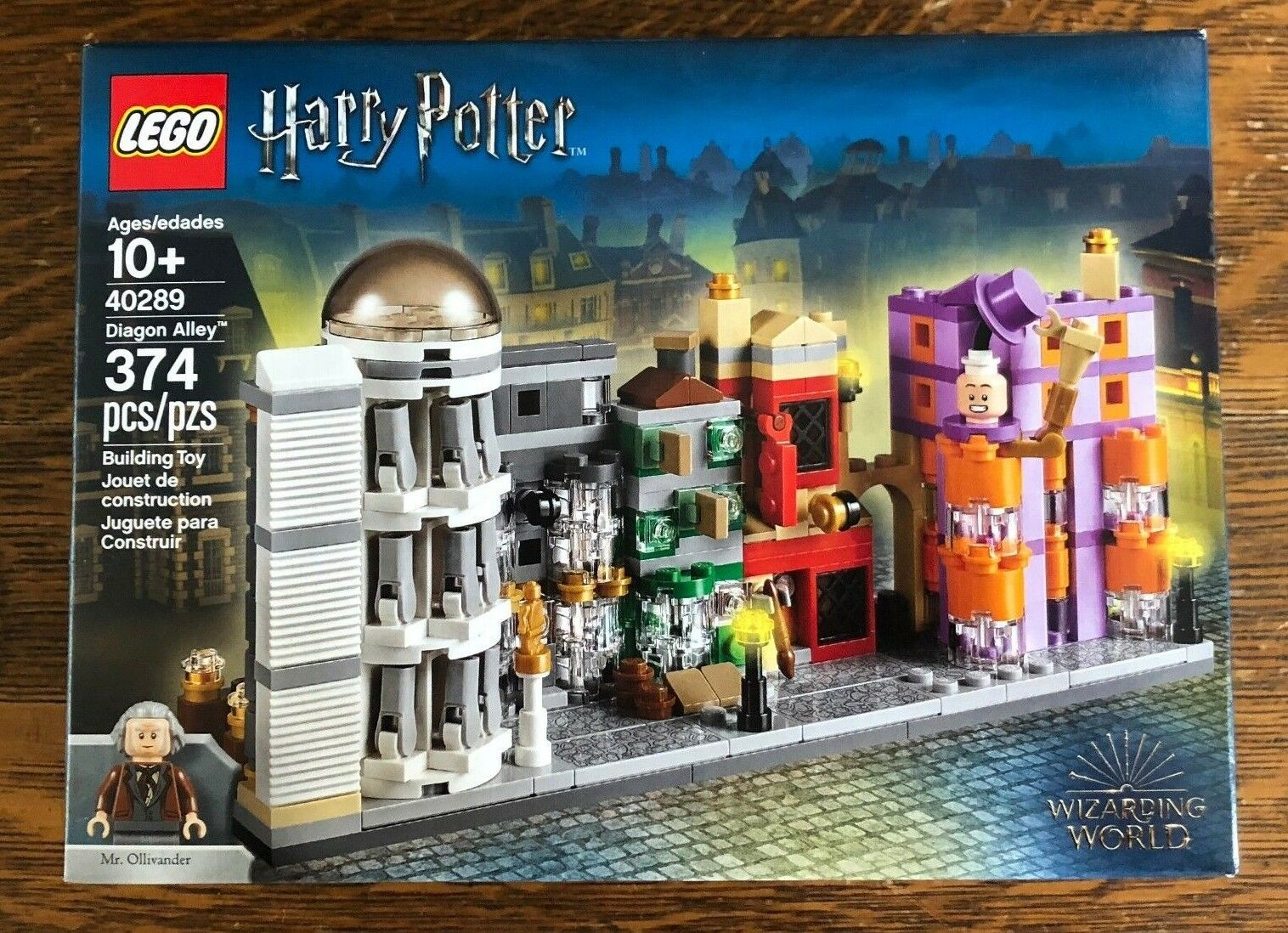 LEGO 40289 IN HAND Harry Potter Diagon Alley Micro build New LE store only