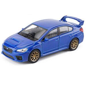 1-36-Subaru-Impreza-WRX-STI-Model-Car-Toy-Vehicle-Diecast-Blue-Kids-Boys-Gift