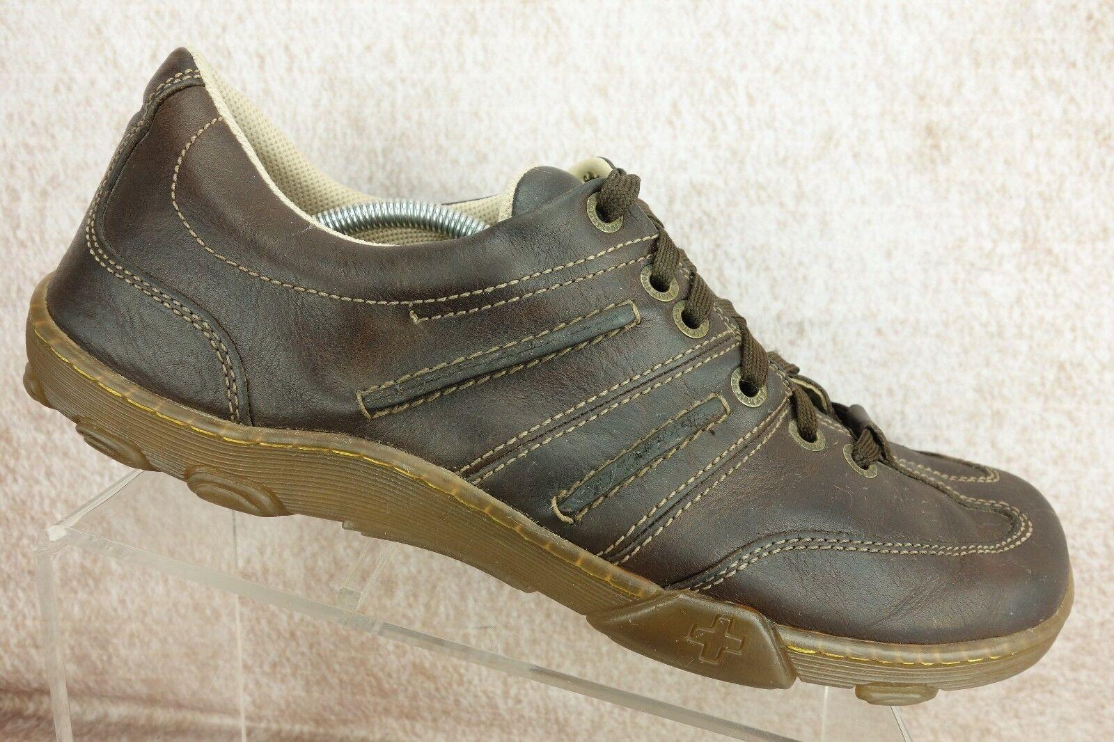 Doc Dr. Martens Brown Leather Casual Walking Oxford Shoes Shoes Shoes Men's Size 13 M 80733b