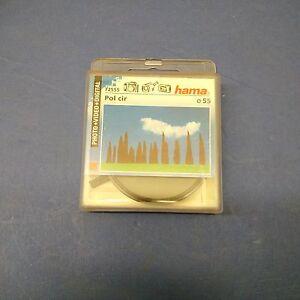 HAMA-Filtre-Photo-video-Circular-Polarizer-Polarisant-Circulaire-55mm
