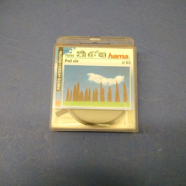 HAMA Filtre Photo video Circular Polarizer Polarisant Circulaire 55mm