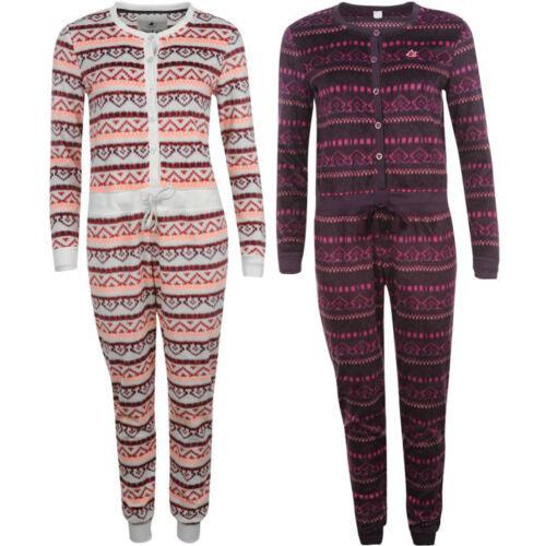 SoulCal Damen Premium Jumpsuit Einteiler XS S M L XL 2XL Onesie Anzug neu