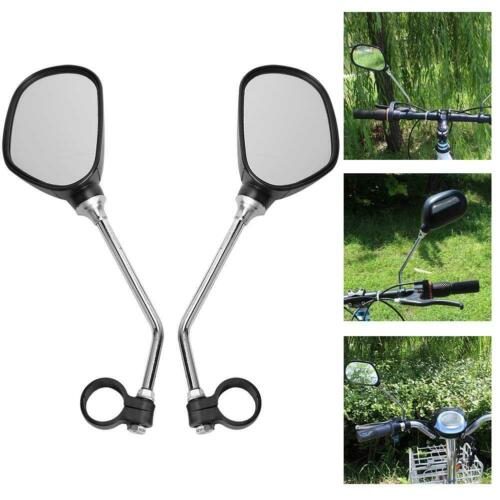Bike Rear Mirrors Bicycle Rearview Adjustable For Mountain Road Bike Handlebar