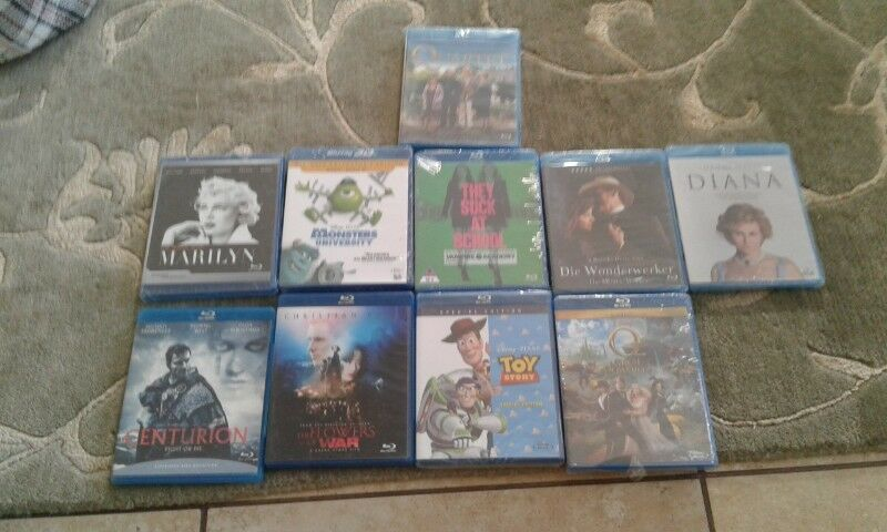 Bluray movies for sale