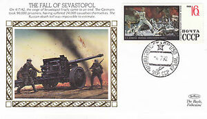 1992-WW2-50th-ANNIVERSARY-THE-FALL-OF-SEVASTOPOL-BENHAM-SILK-COVER-SHS