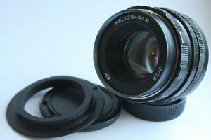 Helios-44m-58mm-f-2-M42-Boke-Lens-for-Canon-EOS-Adapter-1100D-1200D-60D-760D