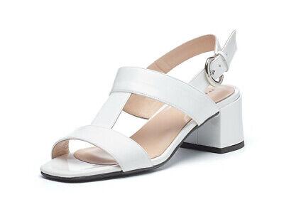 Obbediente Frau 90z8 Sandalo Donna A T In Vernice Bianco Euro 115,00 Scontata 79,90 Materiali Superiori