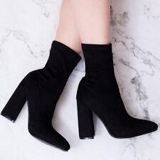 b73cfa167 item 4 SPYLOVEBUY CAMILY Sock Top Block Heel Ankle Boots Shoes SZ 3-8  -SPYLOVEBUY CAMILY Sock Top Block Heel Ankle Boots Shoes SZ 3-8
