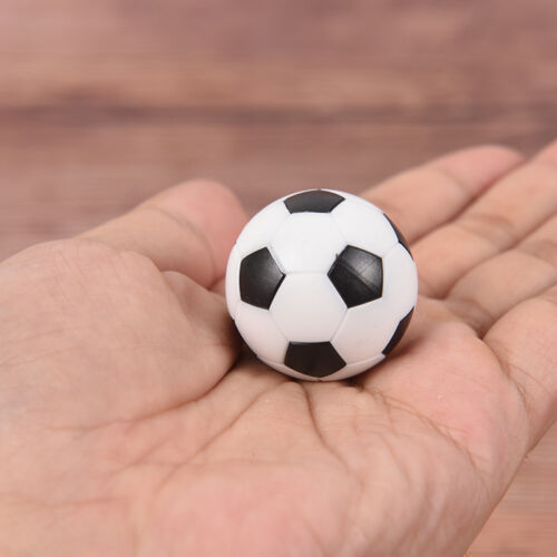 2 Pcs 32mm Foosball Table Football Plastic Soccer Ball Soccer ball Sport Gif D/_N