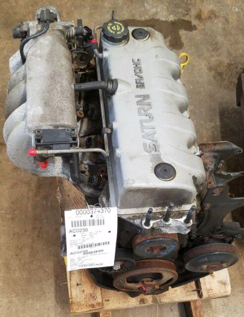 1996 Saturn Sl1 1 9 Sohc Engine Motor Assembly 195 980