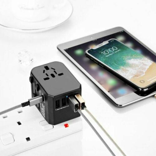 Global Universal Travel Power Adapter All-in-One Worldwide Wall Fast Charger