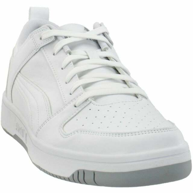Puma Rebound Layup Lo Sl Lace Up  Mens  Sneakers Shoes Casual   - White