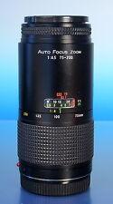 Ozunon Minolta AF Sony Tele Zoom Objektiv lens objectif 4.5/75-200mm - (92542)