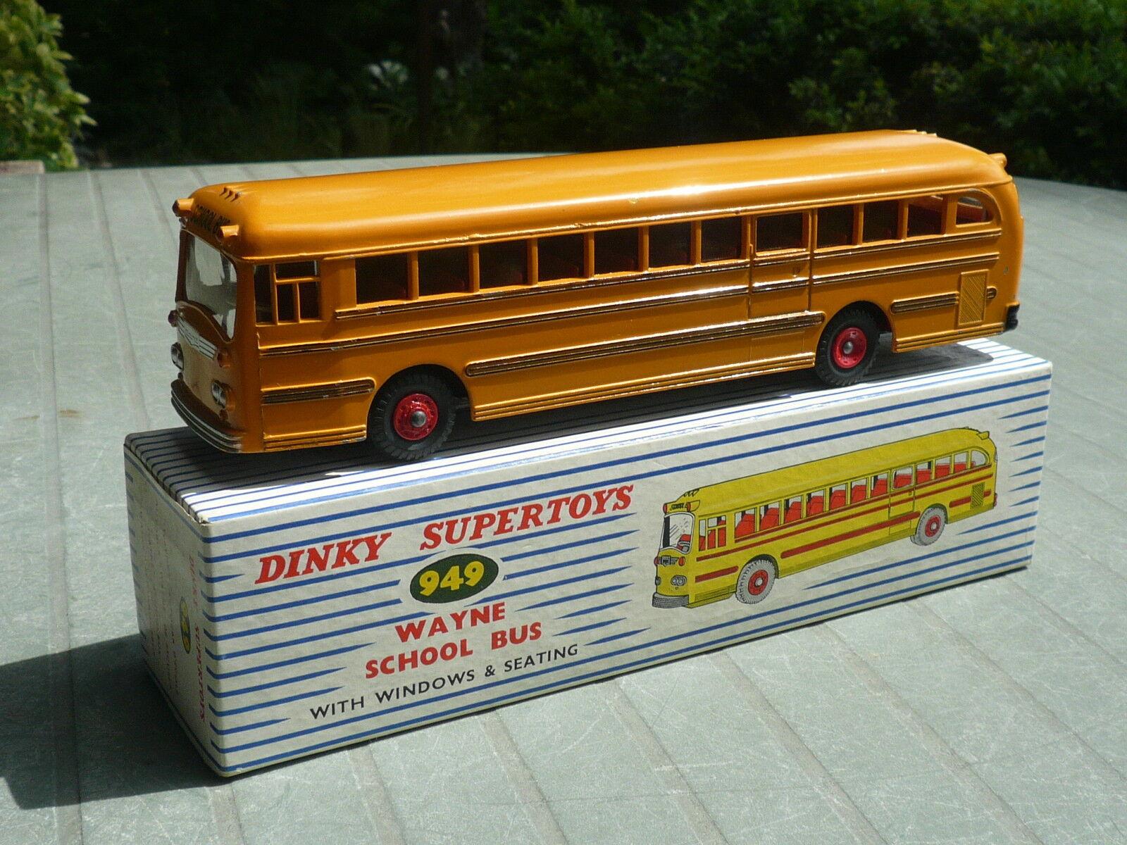 DINKY  TOYS   WAYNE  SCHOOL  BUS    949 | Formes élégantes