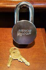 American Lock Series H10 Padlock New Old Stock
